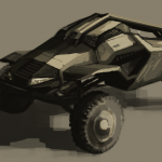 off-road armoured vehicle