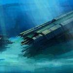 ship crash